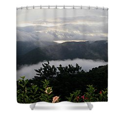 Shower Curtain featuring the photograph Landscape Tropical by The Art of Alice Terrill