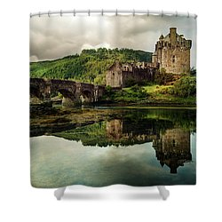 Landscape With An Old Castle Shower Curtain