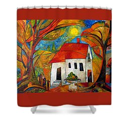 Landscape With The House Shower Curtain
