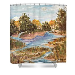 Landscape_1 Shower Curtain
