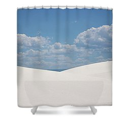 Landscapes Of White Sands 11 Shower Curtain