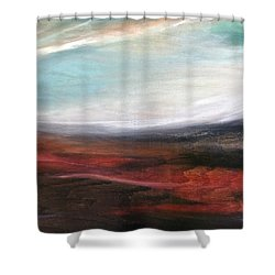 Landslide Shower Curtain