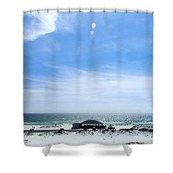 Langdon Beach Shower Curtain