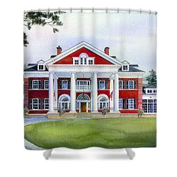 Langdon Hall Shower Curtain by Hanne Lore Koehler