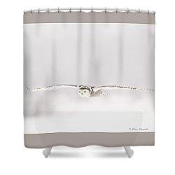 L'ange Des Cieux Shower Curtain