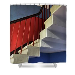 Lanhydrock Stairs Shower Curtain