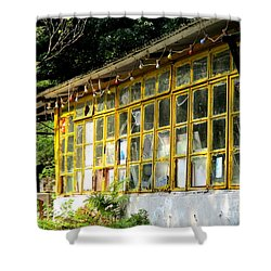 Shower Curtain featuring the photograph Lantau Island 46 by Randall Weidner