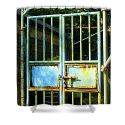 Shower Curtain featuring the photograph Lantau Island 48 by Randall Weidner