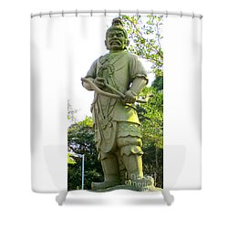 Shower Curtain featuring the photograph Lantau Island 52 by Randall Weidner
