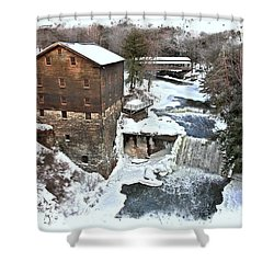 Lanterman's Mill  Shower Curtain