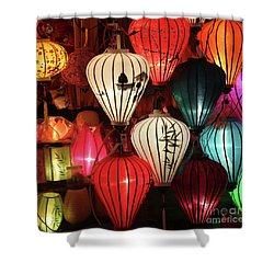 Lanterns Colors Hoi An Shower Curtain