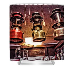 Lanterns For Sale Shower Curtain