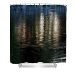 Shower Curtain featuring the photograph Lanterns by Kenneth Campbell