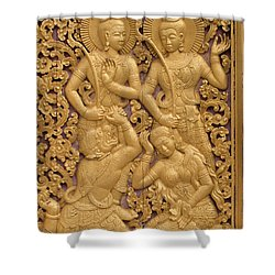 Laos_d59 Shower Curtain by Craig Lovell