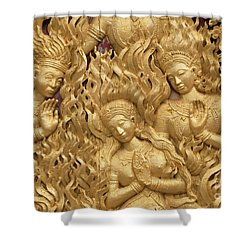 Laos_d60 Shower Curtain by Craig Lovell