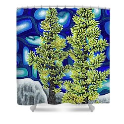 Larch Dreams 1 Shower Curtain