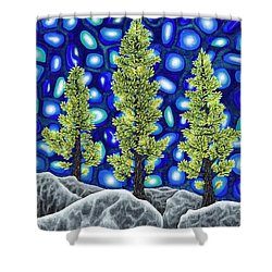 Larch Dreams 2 Shower Curtain
