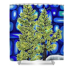 Larch Dreams 3 Shower Curtain