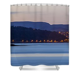 Larne From Magheramorne Shower Curtain