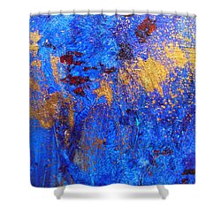 Shower Curtain featuring the painting Las Flores by Mary Sullivan