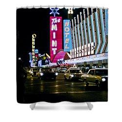 Las Vegas 1964  II Shower Curtain