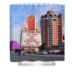 Las Vegas 1994 #1 Shower Curtain by Frank Romeo