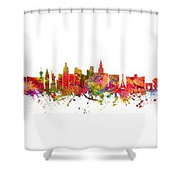 Las Vegas Cityscape 08 Shower Curtain