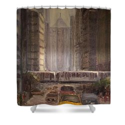 Lasalle Street Shower Curtain