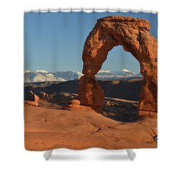 Lasals Framed Shower Curtain