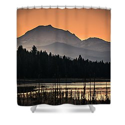 Lassen In Autumn Glory Shower Curtain
