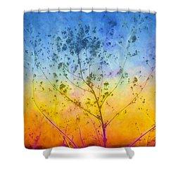 Last Autumn Shower Curtain