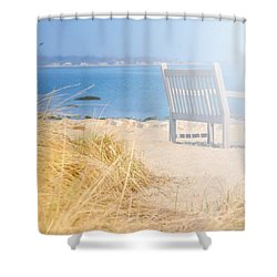 Last Breadth Of Summer Shower Curtain by Diana Angstadt