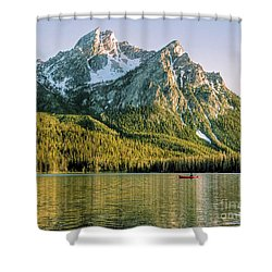 Last Cast Shower Curtain