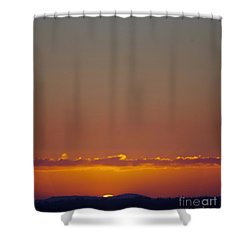 Last Glance Shower Curtain