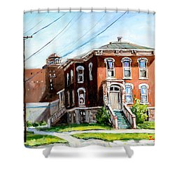 Last House Standing Shower Curtain