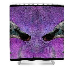 Last Laugh Shower Curtain by WB Johnston
