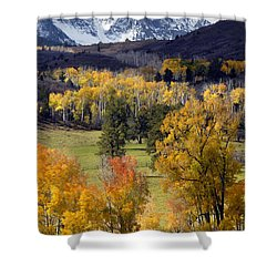Last Light Before The Storm Shower Curtain by Dave Mills