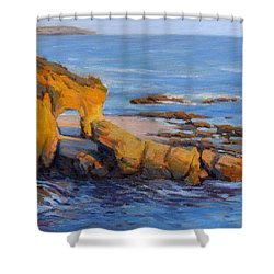 The Golden Hour / Laguna Beach Shower Curtain