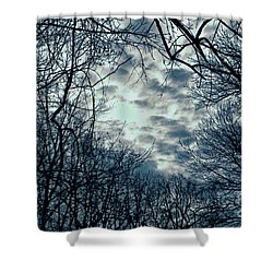Shower Curtain featuring the photograph Last Light by Sandy Moulder