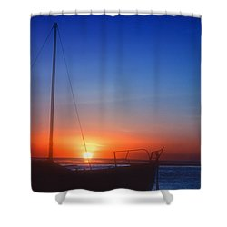 Last Light Shower Curtain by Stephen Anderson