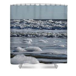 Last Look Of The Season Shower Curtain by Greg Graham