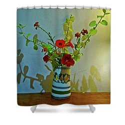 Last Of Summer Shower Curtain by Anne Kotan