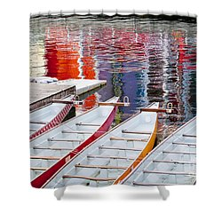 Last Of The Dragon Boats Shower Curtain