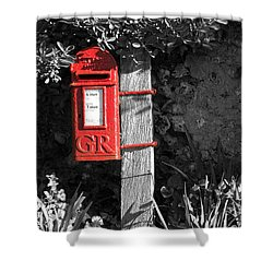 Last Post 4.30 Shower Curtain by Hazy Apple