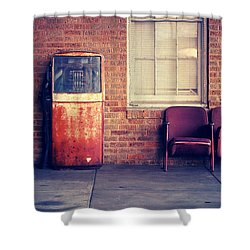 Shower Curtain featuring the photograph Last Pump Standing by Trish Mistric