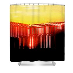 Last Ray Shower Curtain
