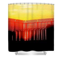Last Ray Shower Curtain by Yelena Tylkina