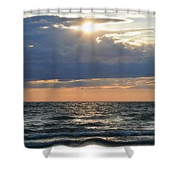 Last Rays Of Sunlight Shower Curtain