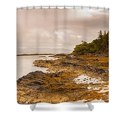 Last Stop Shower Curtain
