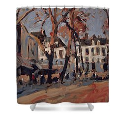 Last Sunbeams Our Lady Square Maastricht Shower Curtain